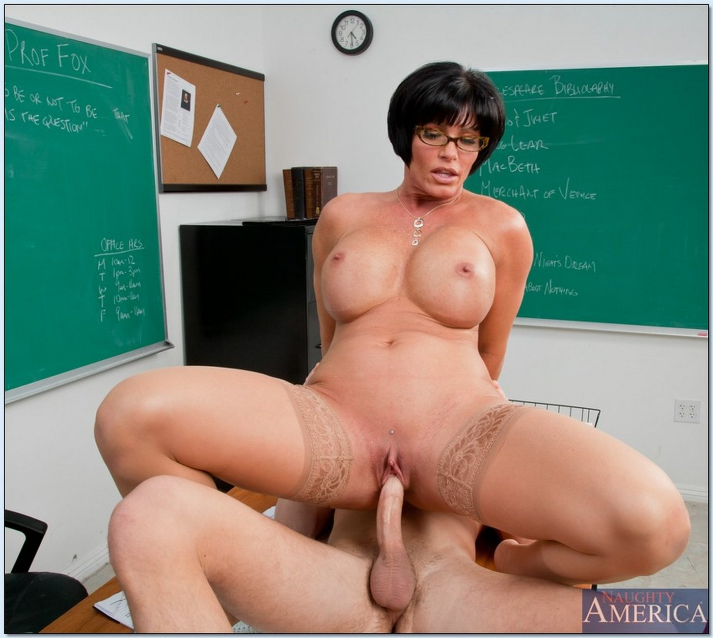 Milf teaching girltures — 3