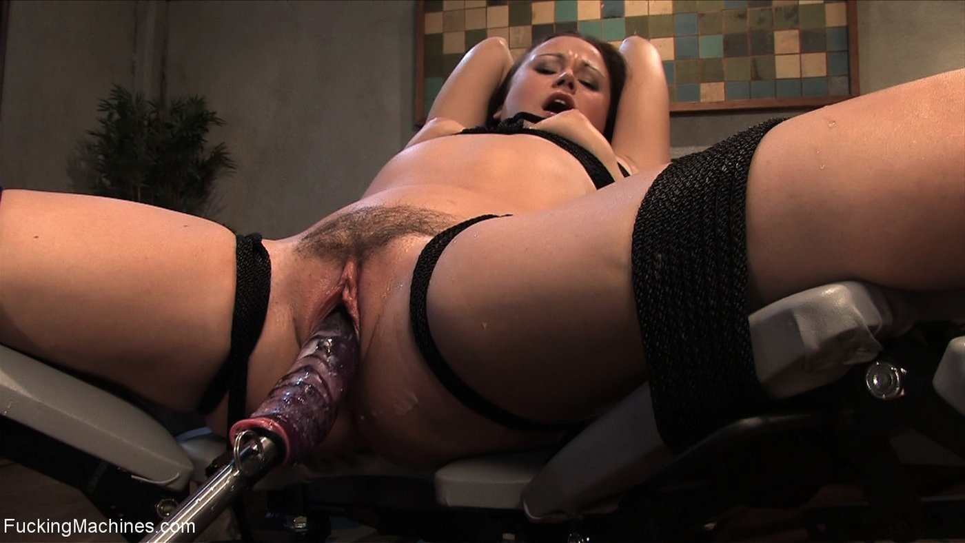 Orgasm with crazy toy