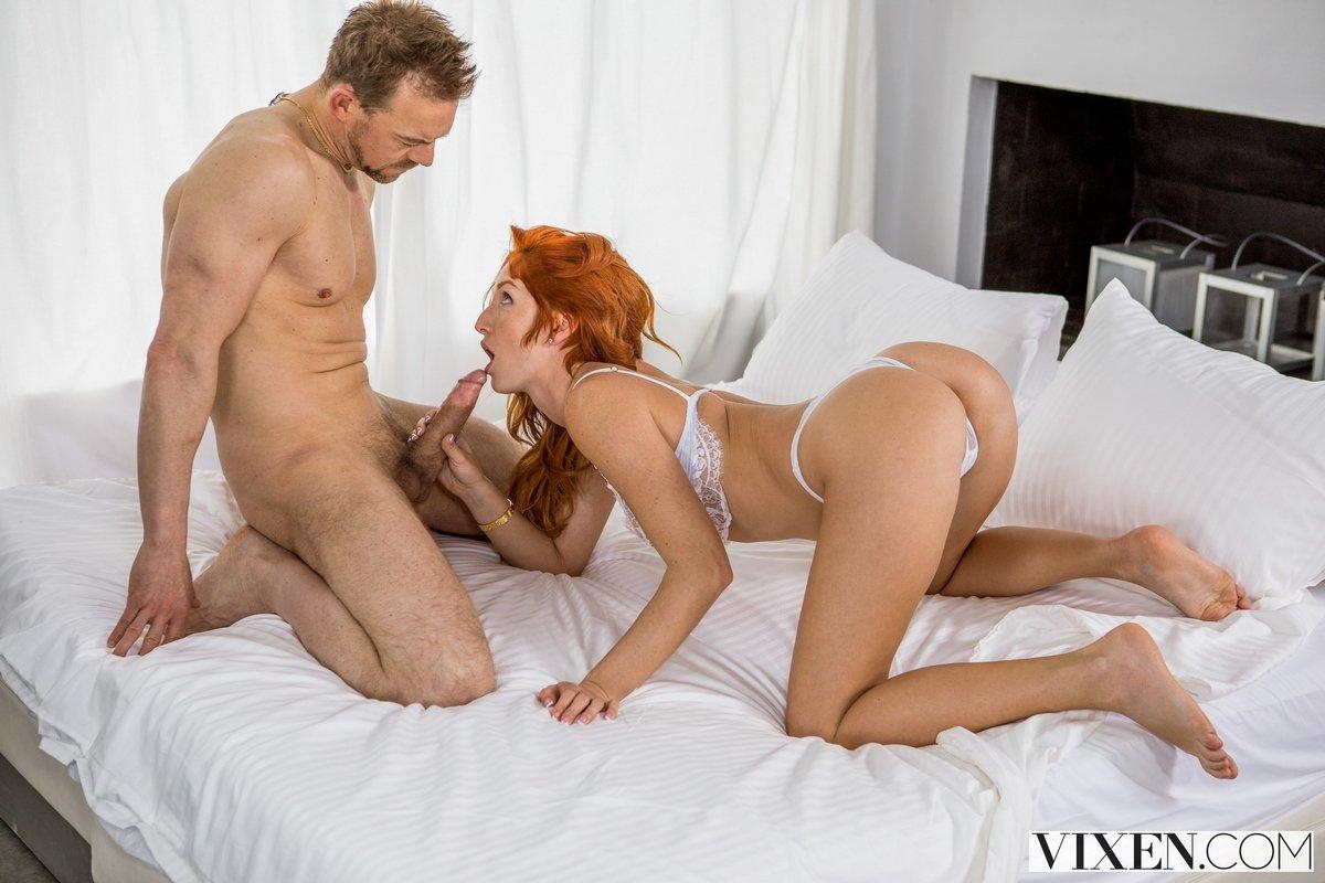 порно рыжие в спальне